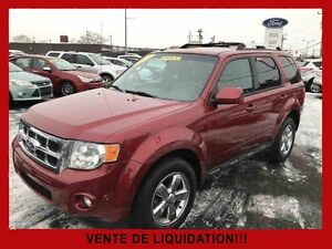 2012 FORD ESCAPE AWD LIMITED