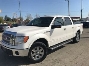 2012 Ford F-150 LARIAT / 4X4 / LEATHER / SUNROOF / CREW