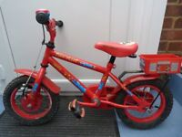 CHILDS BIKE APOLLO FIRE CHIEF