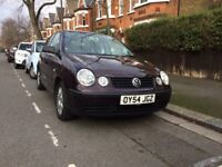 2004 VW POLO, 1.2 PETROL, MANUAL, 5 DOOR, PERFECT FOR LEARNING TO DRIVE/CITY LIVING