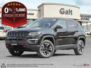 2018 Jeep Compass TRAILHAWK 4X4 | SUNROOF LEATHER 8.4TOUCH NAV