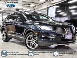 2015 Lincoln MKC Tech Pack, Self Park, Pano roof, Navi