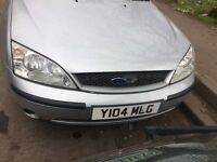 2001 Ford Mondeo Lx 1.8L Petrol 5dr Hatchback Silver BREAKING FOR SPARES