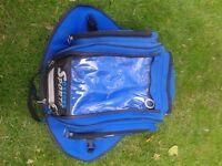 Oxford tank bag for motorbike - blue