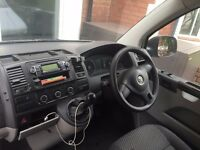 VW RCD210 CD Player Radio with manual and cubby Mat from Transporter T5.1