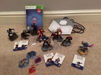 Xbox 360 Disney Infinity 2 + 8 figures