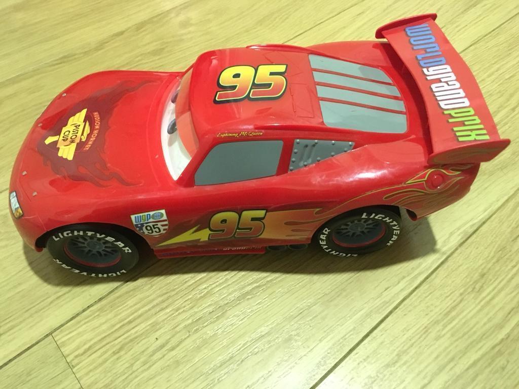 Lightning McQueen large car