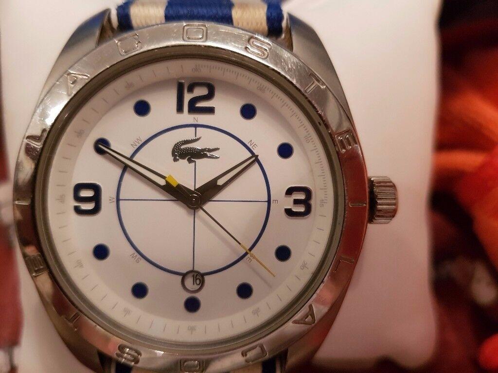 Lacoste quality timepiece