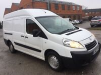 Peugeot expert dispatch van 2012 62 reg extra high roof lwb 2.0 hdi diesel 6 speed drives excellent