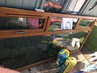 Upvc window double glazed