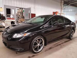 2013 Honda Civic Cpe LX BAS KILO MAGS 18 POUCES GARANTIE PROLONG