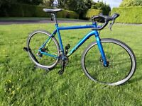 UPGRADED VOODOO LIMBA CYCLO CROSS DISC SPEC ROAD BIKE FULLY SERVICED