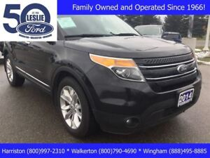 2014 Ford Explorer Limited   Includes Snow Tires & Rims