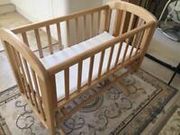 John Lewis Swing/Gliding Crib