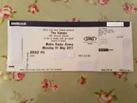 3x tickets - The Vamps - BRAD Pit - Newcastle Metro Radio Arena