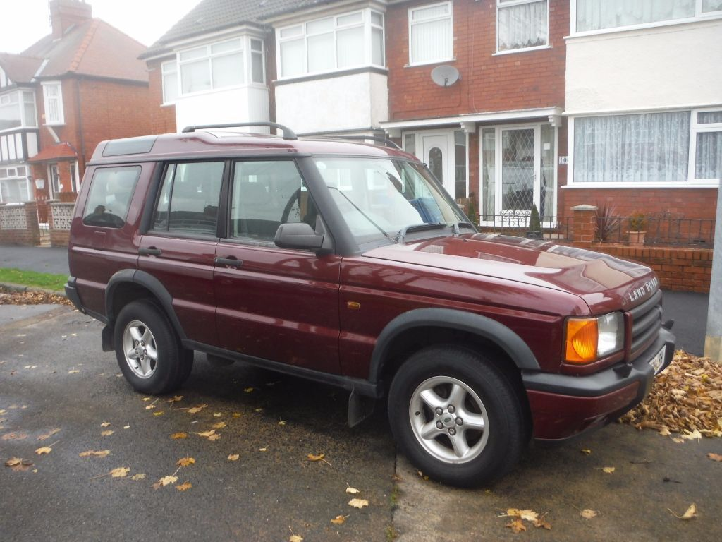 land rover discovery 2 td5 gs 2 5l diesel 7 seats red 97500 miles full mot in hull east. Black Bedroom Furniture Sets. Home Design Ideas