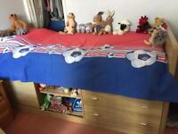 Childs Mid-Sleeper bed