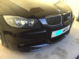 BMW e90 front spats/ lips for both corners of front m sport bumper