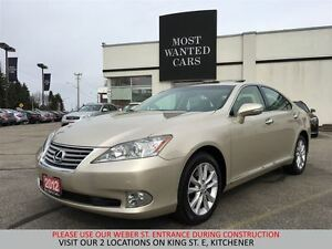 2012 Lexus ES 350 BEIGE LEATHER | CLEAN CARPROOF