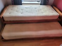 M&S single bed with underbed