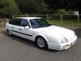LHD Citroen CX 25D TURBO2 (DTR) 2.5l 120BHP 235000kms on meter (146.000 miles) white in daily use