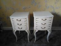 louis French bedside Pair