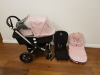 Bugaboo Cameleon 3 Pram, Pink. Immaculate condition. Walthamstow