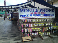 Vaping and mobile phones business Stockton Market