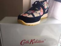 cath kidston trainers worn twice for zumba size 4