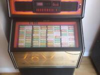 Retro,vintage,classic Wurlitzer jukebox