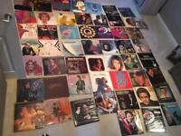 54 x Vinyl 12inch LPs and 24 x 7inch LPs in great condition