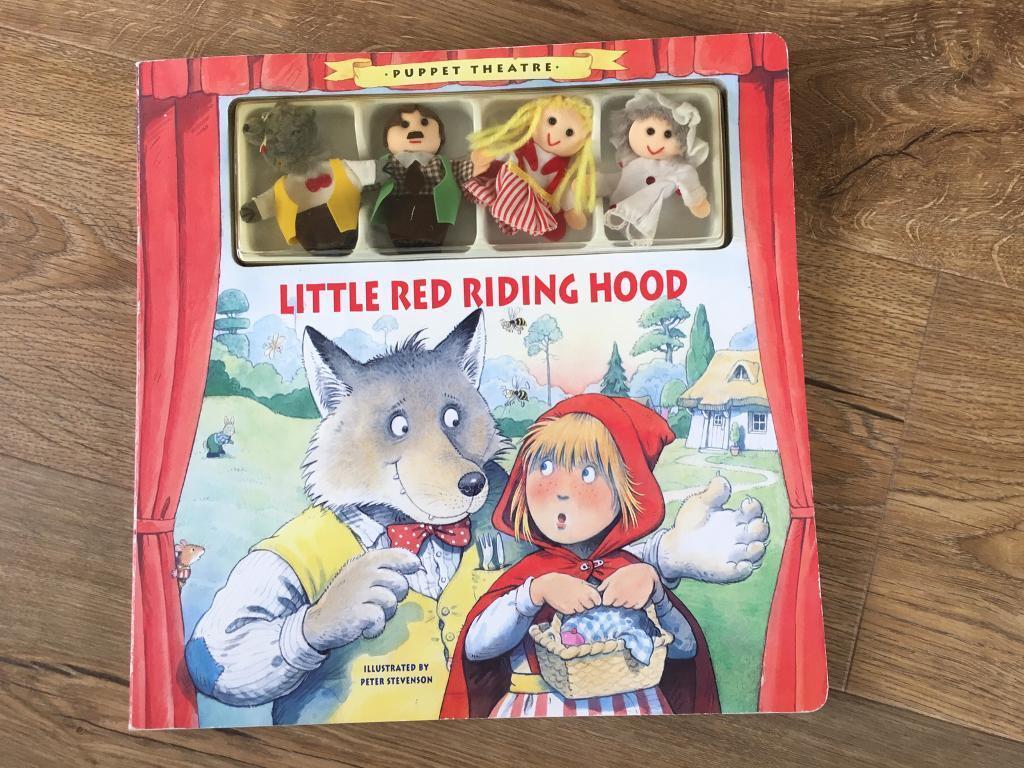 Little Red Riding Hood Puppet book