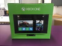 XBOX ONE (brand new in box) for sale with headset, Kinect and controller 500gb