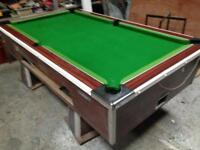 Pool table slate bed 7x4