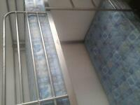 bunk beds with mattresses ,very good condition ,hardly used, full size