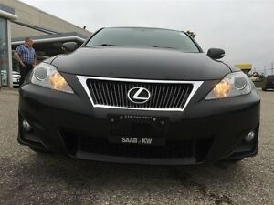 2012 Lexus IS 250 Show Room Condition Paddle Shift Awd  Black On Kitchener / Waterloo Kitchener Area image 9