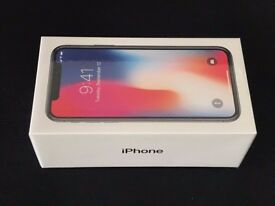 iPhone X 64gb SEALED BOX/APPLE STORE RECEIPT AND WARRANTY