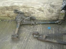 DIAHATSU FOURTRACK FRONT AXLE FOR SALE