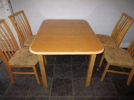 dining table pine seats 6 can fold to seat 4 kitchen table