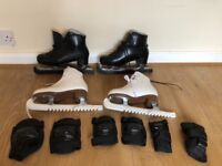 Ice skates package - men and women