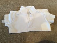 Two pairs of boys school trousers & t-shirt