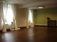 Yoga Studio to hire