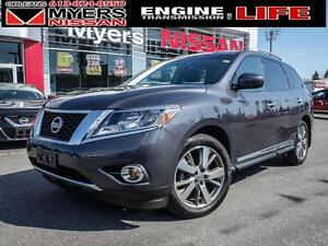 2014 Nissan Pathfinder PLATINUM, ONLY 29,243 KM! LEATHER! Hitch,