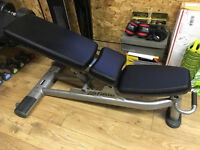 Life Fitness Signature Series Adjustable Bench in Very Good Condition