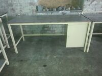 "Heavy duty work bench Type ""B"", second hand but in good order, other types elsewhere on Gumtree"
