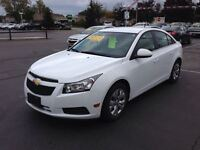 2014 Chevrolet Cruze 1LT TURBO CONNECTIVITY PACKAGE