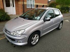 Peugeot 206 1.6 Sport 5dr Full Service History Rear Parking Sensor