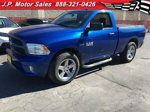 2016 Ram 1500 Express, Regular Cab, Automatic, Tonneau Cover