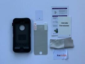 iPhone 5 /5s Otter Case & screen protectors x 6