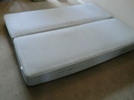 2x single innerspring mattresses - very good condition (price for both)